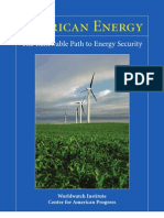 USA - The Renewable Path to Energy Security