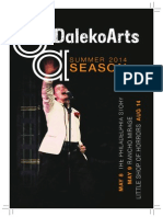 DalekoArts Season 2014 Program