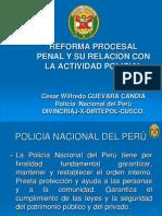 Reforma Procesal Penal y Su Relación Con La PNP PERÙ