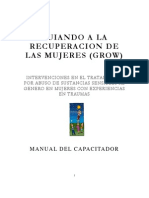 Grow Trauma Trainer Manual - Spanish
