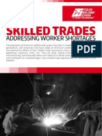 Addressing Worker Shortages in the Skilled Trades