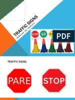 137426131 Traffic Signs Spanish English