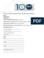 Santa Fe Branch NAACP Annual Membership Form