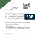 CV of Rene Ylanan (Consumer) Oct. 2009
