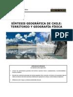 01 Síntesis Geográfica de Chile-Territorio y Geografía Física