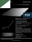 Adamo XPS Spec Sheet