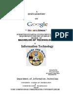 137186508 Google Glass Seminar Report