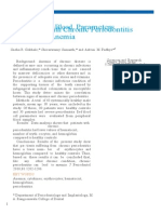 (66693062) Evaluation of Blood Parameters in Patients With Chronic Periodontitis for Signs of Anemia