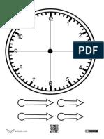Reloj Medias HORAS y Cuartos