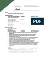 mccarel e-portfolio resume