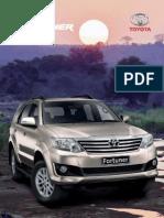Fortuner Brochure 2014