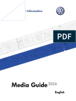 Volkswagen Motorsports Media Guide 2014