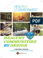 Public Health and the Built Environment Program