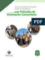 Primer Concurso de Buenas Prácticas Policiales de Carabineros - Prácticas Policiales de Orientación Comunitaria