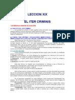 19. Leccion Xix El Iter Criminis