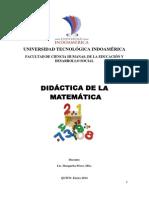 Didactica de La Matematica -Unificado