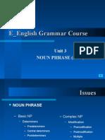Week 3 Noun Phrase (2)