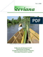 Revista Steviana - Vol. Nº 1