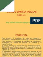 Método Simpex Tabular