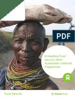 Embedding Food Security within Sustainable Livelihood Programmes