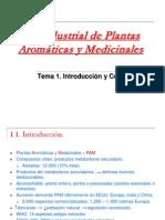 Uso Industrial de Plantas Medicinales Aromaticas y Cosmeticas