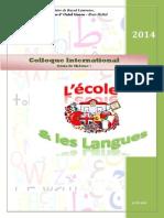 Ecole Langues