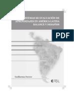 100. Sistemas de Evaluación de Aprendizajes en América Latina