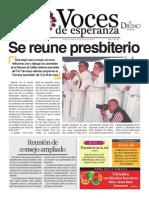 Voces de Esperanza 04 de mayo de 2014