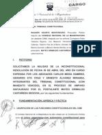 CNM interpuso recurso de nulidad a fallo del TC sobre fiscales