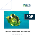 Evaluation of Closed Projects in Morocco and Egypt
