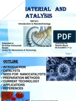 Nanomaterials & catalysis