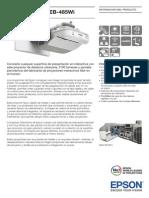 Epson EB 485Wi Brochures 1