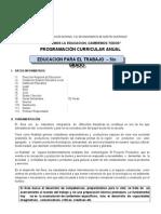 Modelo Programa Curricular EPT