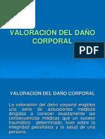 Valoracic3b3n Del Dac3b1o Corporal