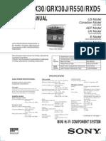 HCD-GRX30