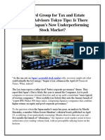 Westward Group for Tax and Estate Planning Advisors Tokyo Tips