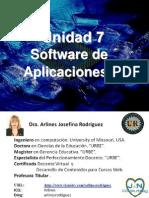 11. Unidad 7 Software de Aplicaciones