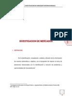 Investigacion de Mercados Internacional Gomez