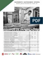 Catalogo (Equipos de Panificacion)
