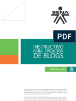 Instructivo Blogs