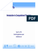Computational Analysis