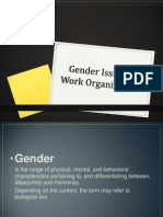 Gender Issues in Work Organizations