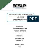 Lab 1 de Electricidad y Electronica Del Vehiculo
