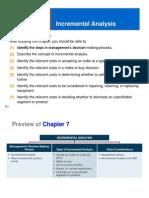 CH 7 Incremental Analysis