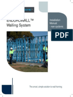 Endurowall Assembly and Installation Manual