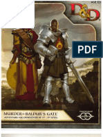 Murder in Baldurs Gate - Adventure Book