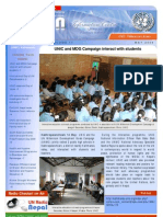 May-2009 UN Nepal Newsletter