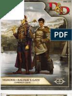 Murder in Baldurs Gate - Setting Book
