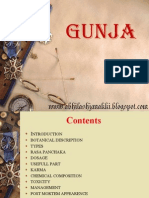 Gunja (Abrus precatorius)