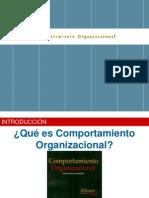 Modelo de Comportamiento Organizacional y Elementos Claves